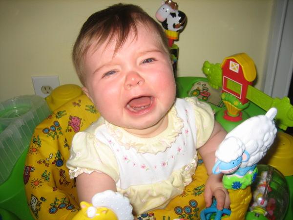 Cute Baby girl crying so cute.JPG