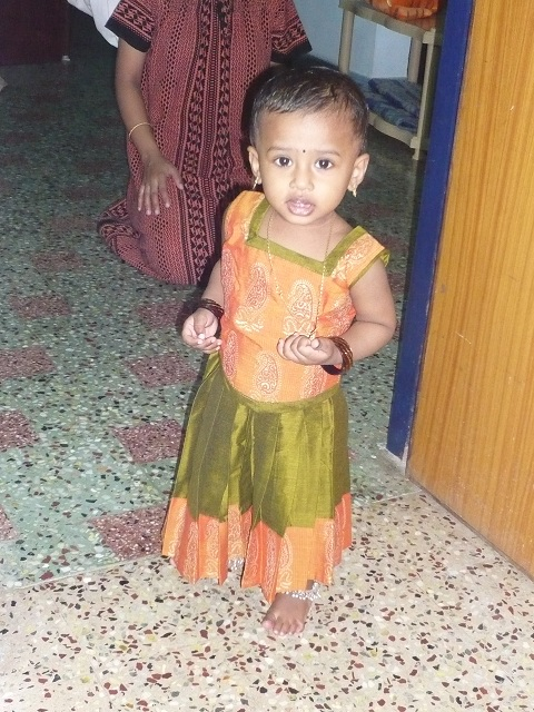 Cute Baby girl Deekshita photo albums