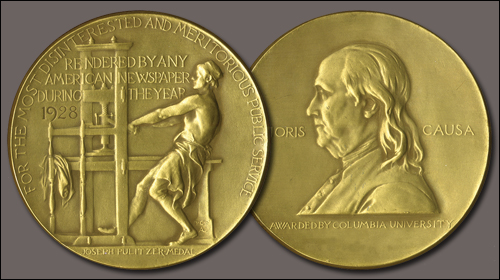 Pulitzer prize four