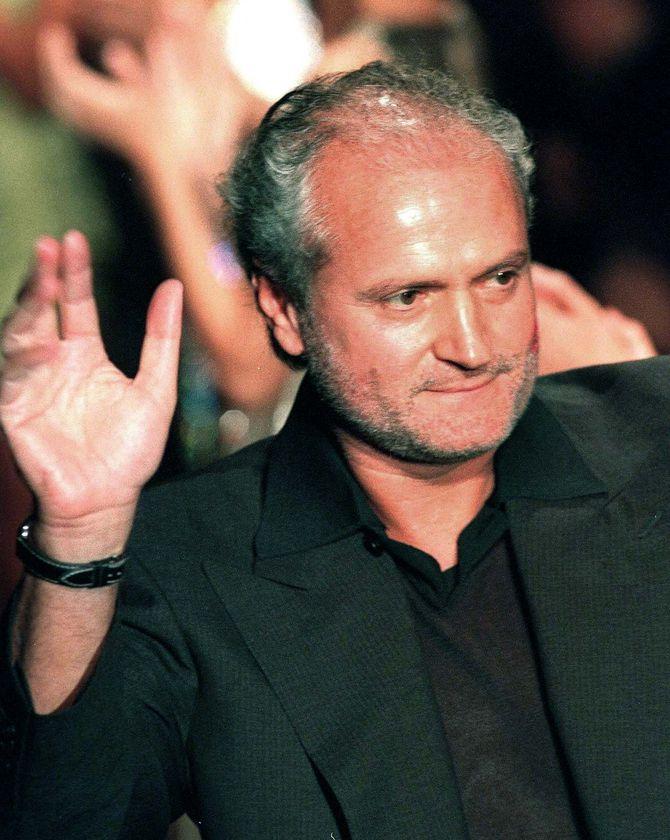 """""""La vita e bella"""": Roberto Cavalli and Gianni Versace two ..."""