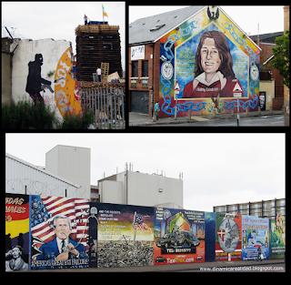 Murales en West Belfast