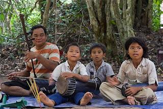Personas en Camboya