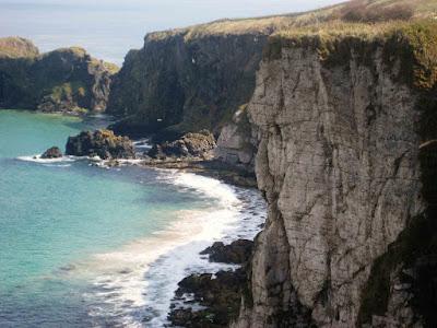 Acantilado,Irlanda del Norte