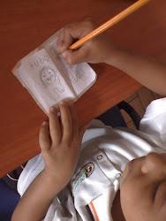 proceso escritor de los niños