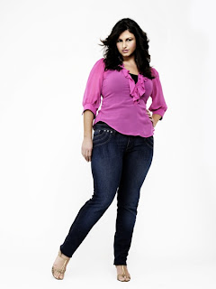 Ice Queen Plus Size Skinny Jeans