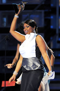 Jennifer Hudson Curvy Woman at the Grammy's