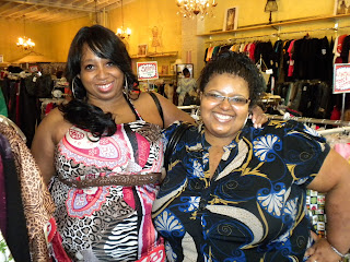 Cassy McBryde- Us Director of the Fuller Woman Expo; Stephanie Danforth of Venus Divas magazine and Sounds of Soul Radio