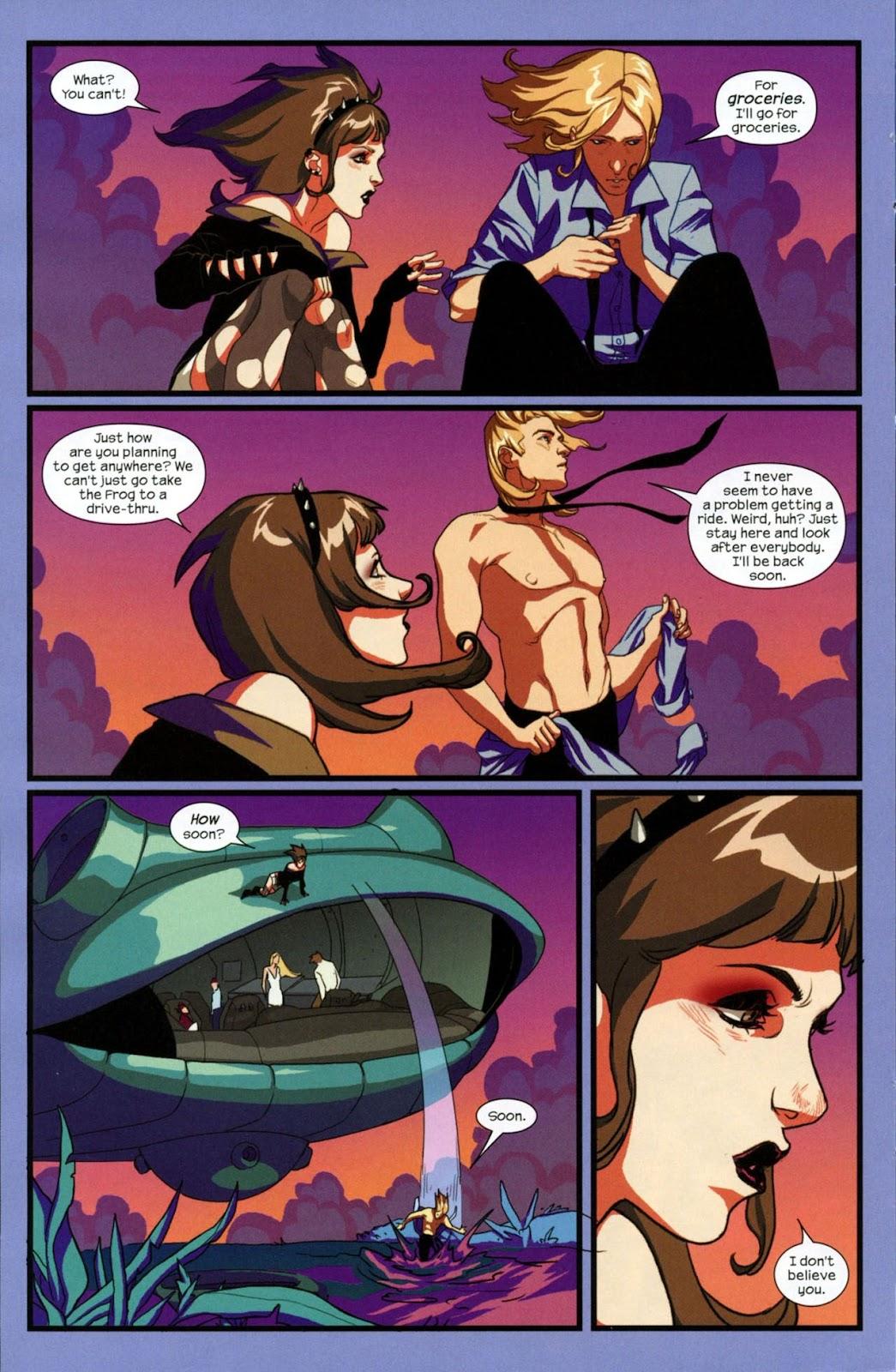 Runaways (2008) Issue #14 #14 - English 5