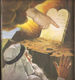 It Was Actually the Finger of Jesus that Wrote the 10 Commandments