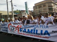 Caminhada pela Família em São Gonçalo