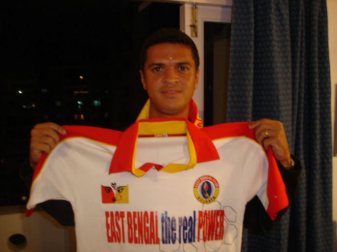 EDMILSON with EAST BENGAL the Real POWER Official T-Shirt