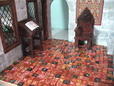 The Tudor Medieval Jacobean Queen Anne Dollhouse Project