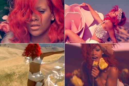 Rihanna Red Hair 2010 Only Girl. for my own hair for our
