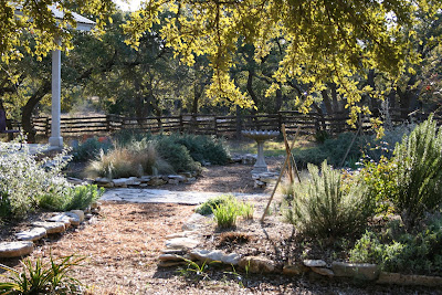 A Texas Hill Country Garden Cottage Garden In Winter