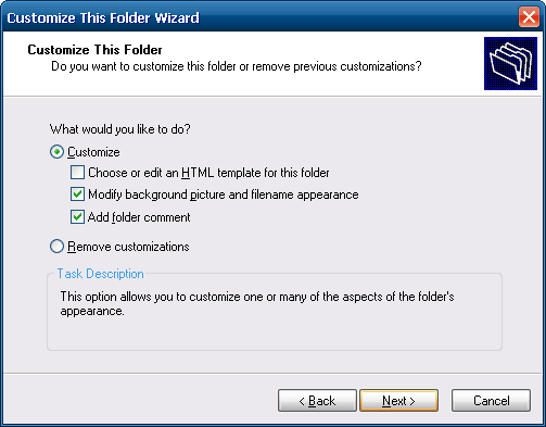 IEShWiz: Folder customization at its best