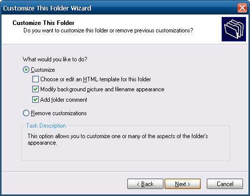 IEShWiz: Folder customization at its best