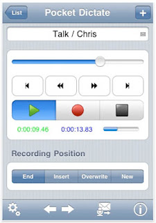 Pocket Dictate iPhone Dictation Software