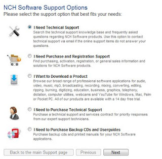 NCH Software Customer Support
