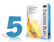 Express Burn Disc Burning Software