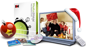 Create custom video slideshows to share online or DVD with PhotoStage slideshow software