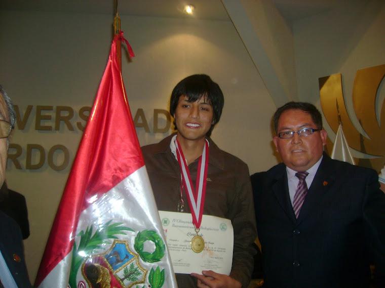 ¡ PERU ES EL NUEVO CAMPEON IBEROAMERICANO DE BIOLOGIA IV O.I.A.B. 2010!