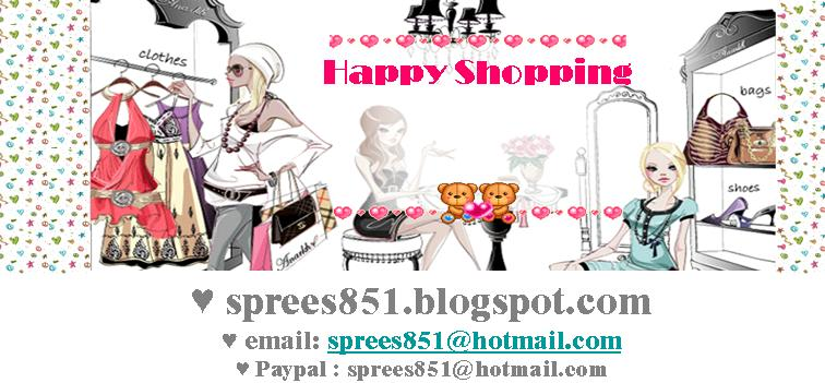 Let's have a shopping sprees @sprees851.blogspot.com