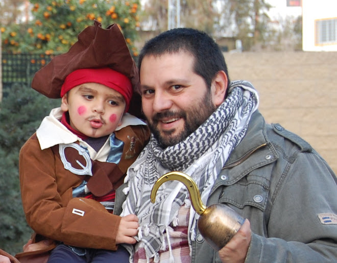 AXEL Y YO EN LA CABALBATA 2008
