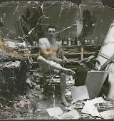 George Dyer in Bacon's studio by Deakin