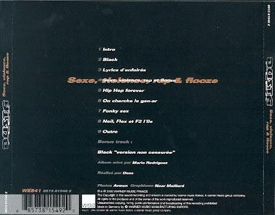 Busta Flex - Sexe, Violence, Rap & Flouze (Album Mixtape)