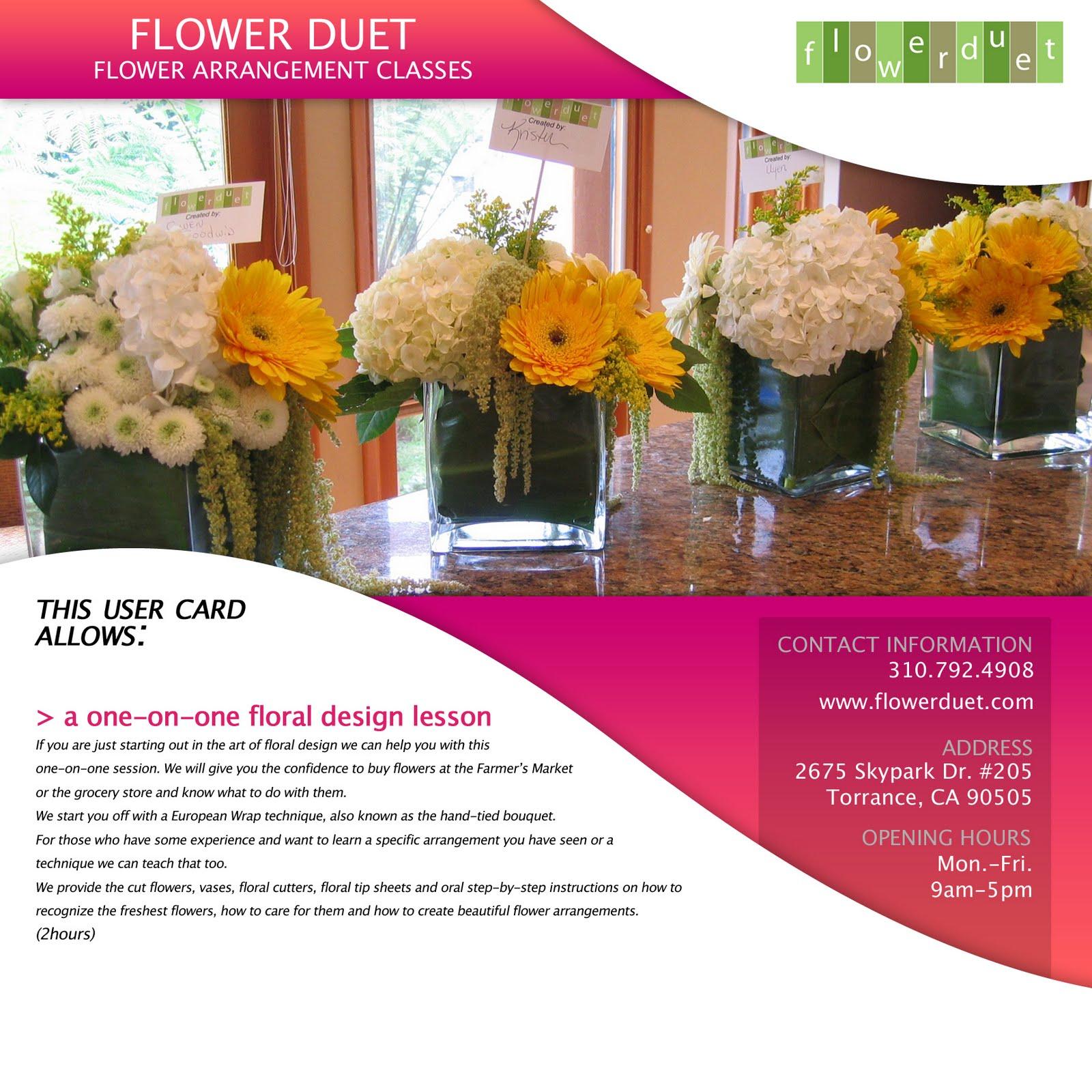 Gift Certificates LaLaBox FlowerDuet