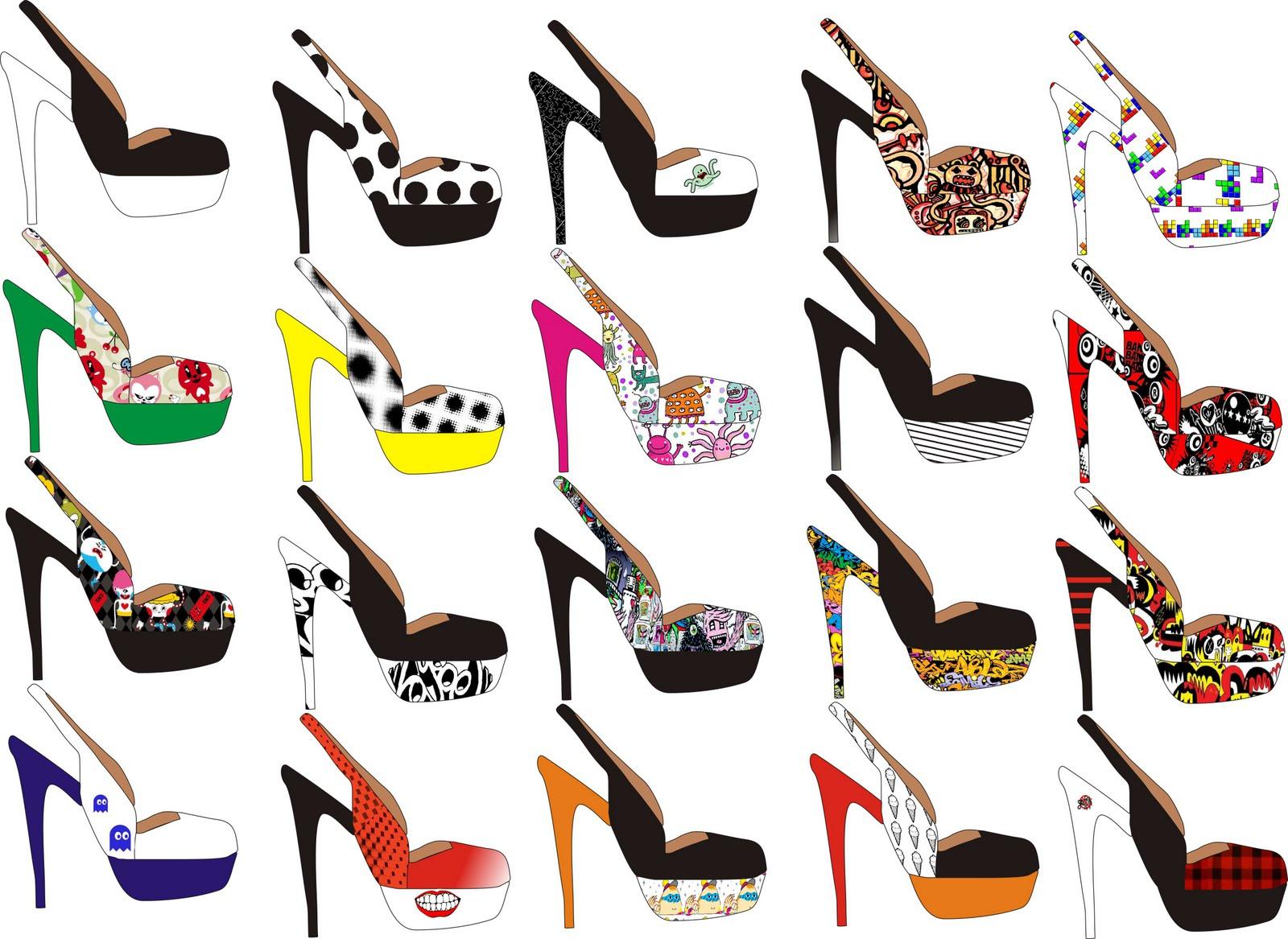Guadalupe orellana fashionblog dise o de calzado for Diseno de zapatos