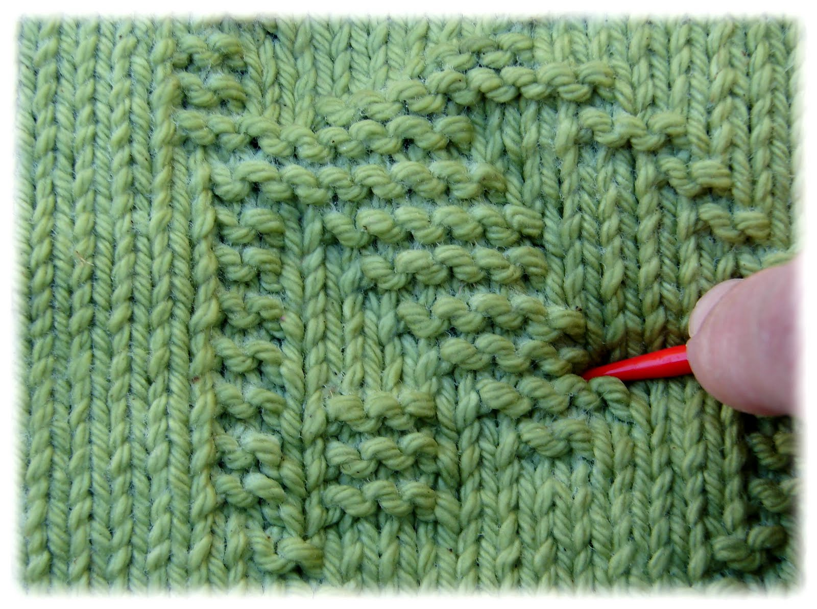 ♥ Rachel\'s Knitting Room ♥: How Do You Block Your Patterns?