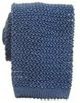 Nick Bronson Plain Silk Knitted Tie