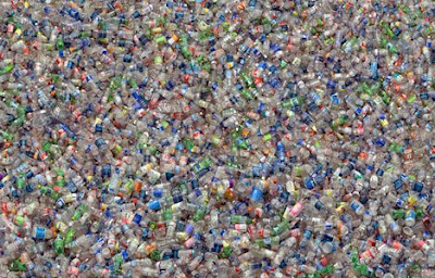Plastic sea