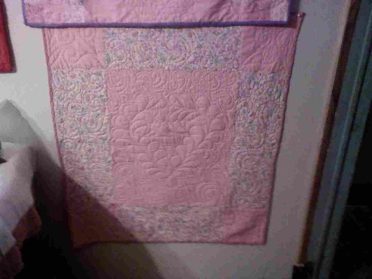 Great Great Niece Baby Quilt for her stroller
