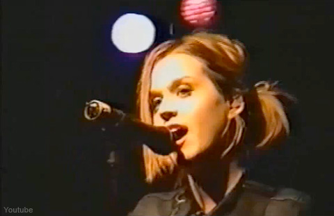 Here is Katy Hudson singing as a Christian artist.