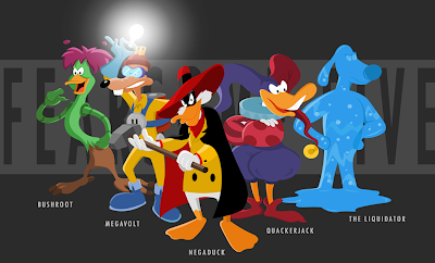 who is your favorite darkwing duck villain?