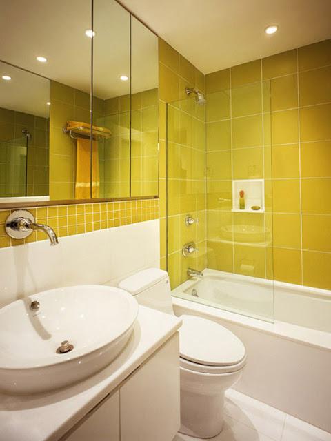 Photo de salle de bain moderne meuble et decoration de - Comment decorer sa salle de bain ...