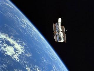 Hubble na atmosfera