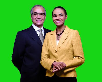 Marina Silva e Guilherme Leal