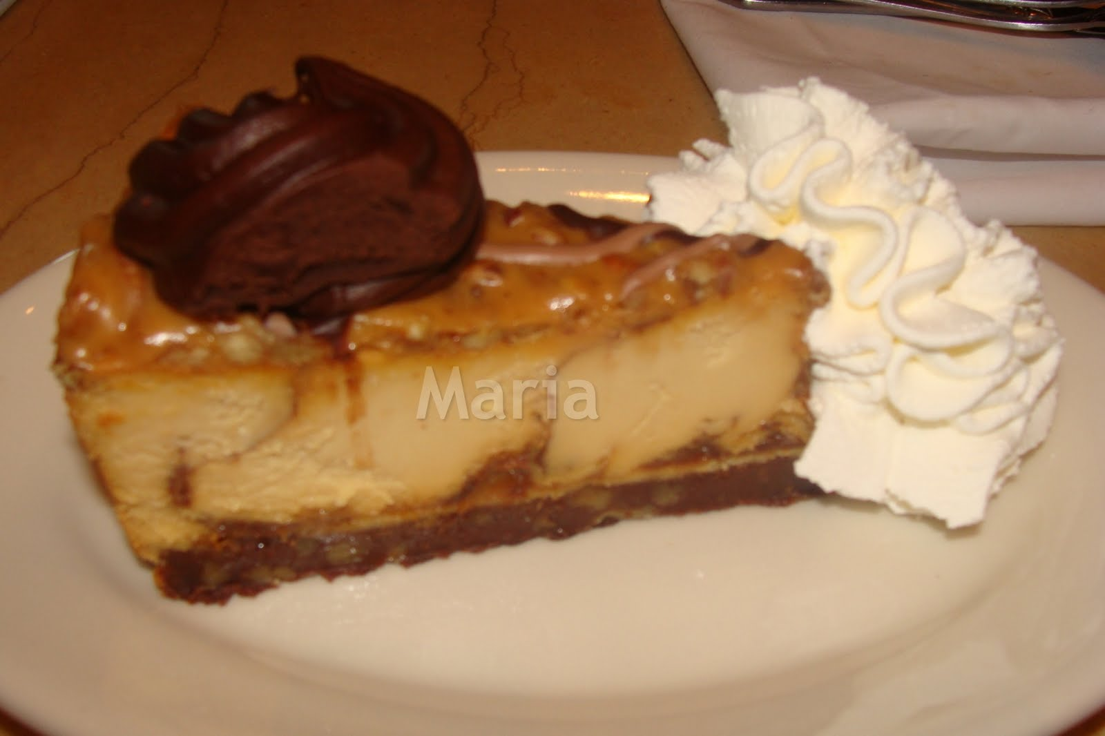 Food and Beverage Stop: Caramel Pecan Turtle Cheesecake