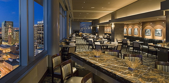 The Peak Lounge at the Hyatt Regency Denver 650 15th Street, 27th floor,