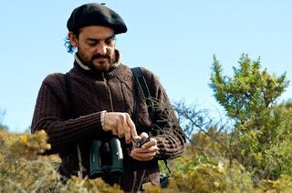 Orcas researcher Roberto Bubas