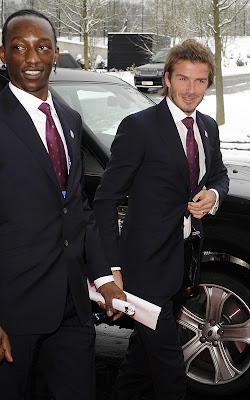 David Beckham at the World Cup Announcement Event Pics
