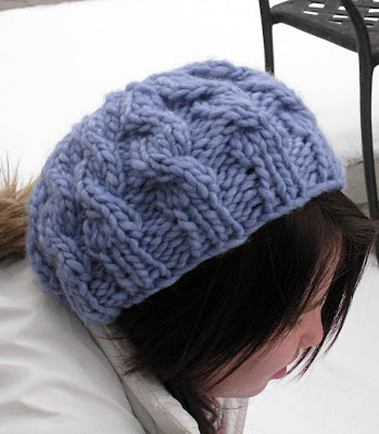Paulinas Blog: Speedy Cable Beret Pattern