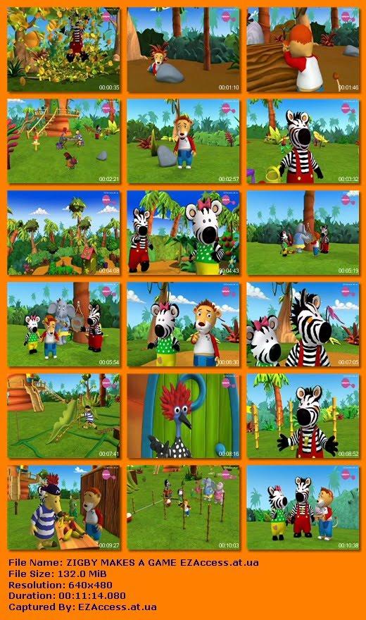 ΖΙΓΚΜΠΙ: ΤΟ ΝΕΟ ΠΑΙΧΝΙΔΙ - ZIGBY MAKES A GAME (ΠΡΙΣΜΑ+)