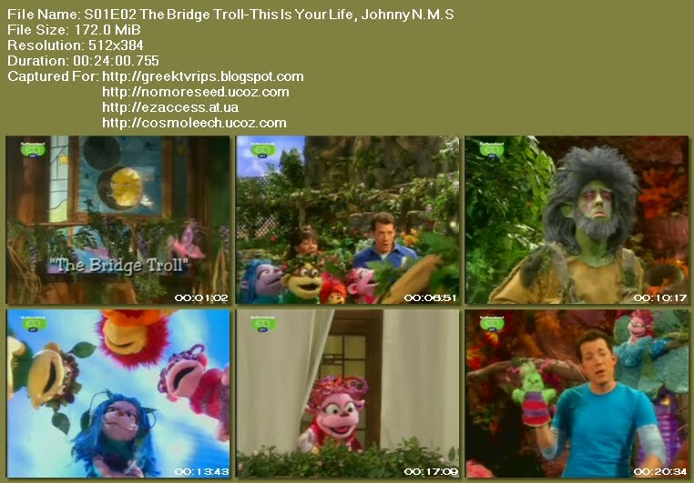Ο ΤΖΟΝΙ ΚΑΙ  ΤΑ ΞΩΤΙΚΑ - JOHNNY AND THE SPRITES - S02E02 - The Bridge Troll - This  Is Your Life, Johnny N.M.S. (ΕΤ1)