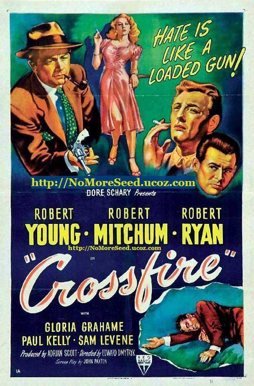 ΤΟ ΕΙΚΟΣΙΤΕΤΡΑΩΡΟ ΕΝΟΣ  ΔΟΛΟΦΟΝΟΥ - Crossfire (1947) N.M.S [ΕΛΛΗΝΙΚΟΙ ΥΠΟΤΙΤΛΟΙ] (ΣΙΝΕ+)