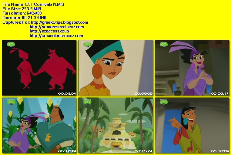 ΕΝΑ ΣΧΟΛΕΙΟ ΓΙΑ ΤΟΝ ΑΥΤΟΚΡΑΤΟΡΑ - THE EMPEROR'S NEW SCHOOL -  S02E51 - Cornivale N.M.S. (ΕΤ1)