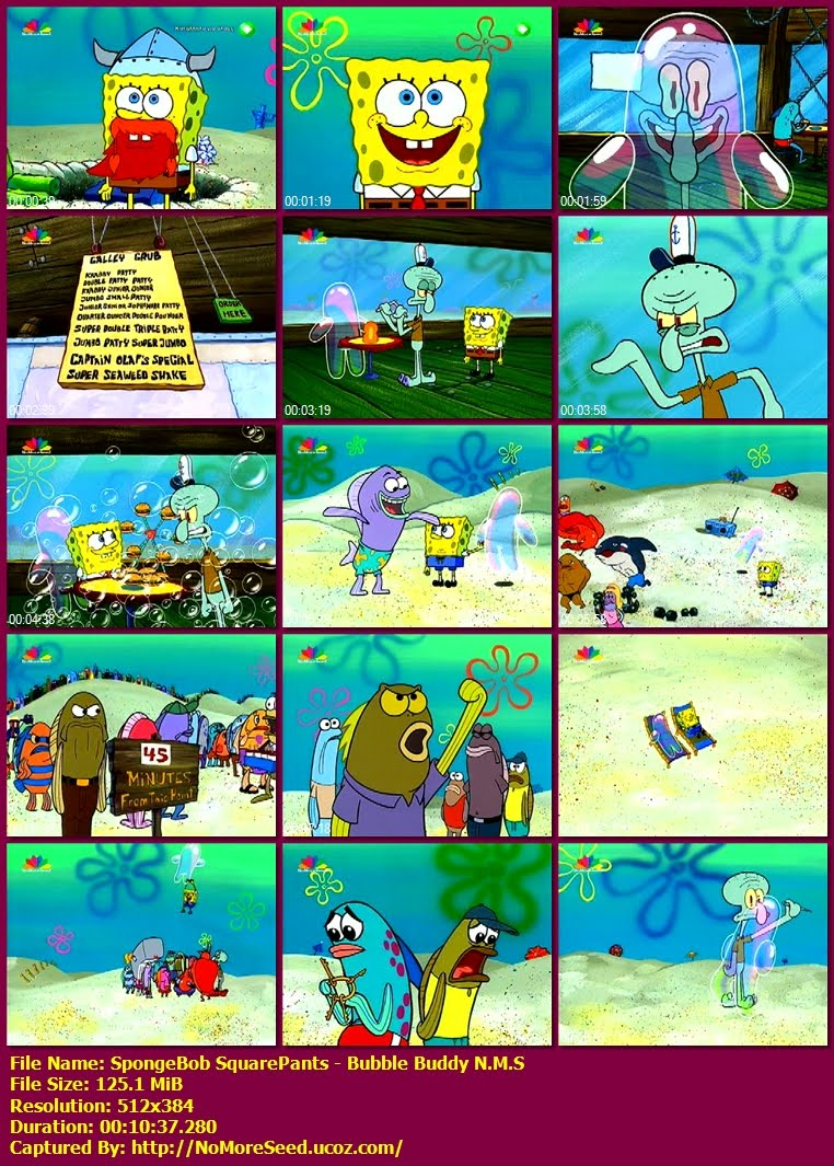Μπομπ Σφουγγαράκης - Φίλος Φούσκα - SpongeBob SquarePants -  Bubble Buddy N.M.S. (ΜΕΤΑΓΛΩΤΤΙΣΜΕΝΟ ΣΤΑ ΕΛΛΗΝΙΚΑ) (STAR)